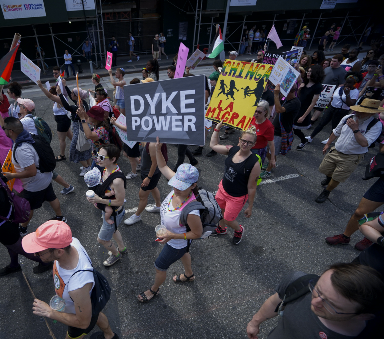 Dyke Power Photo: David A Garcia