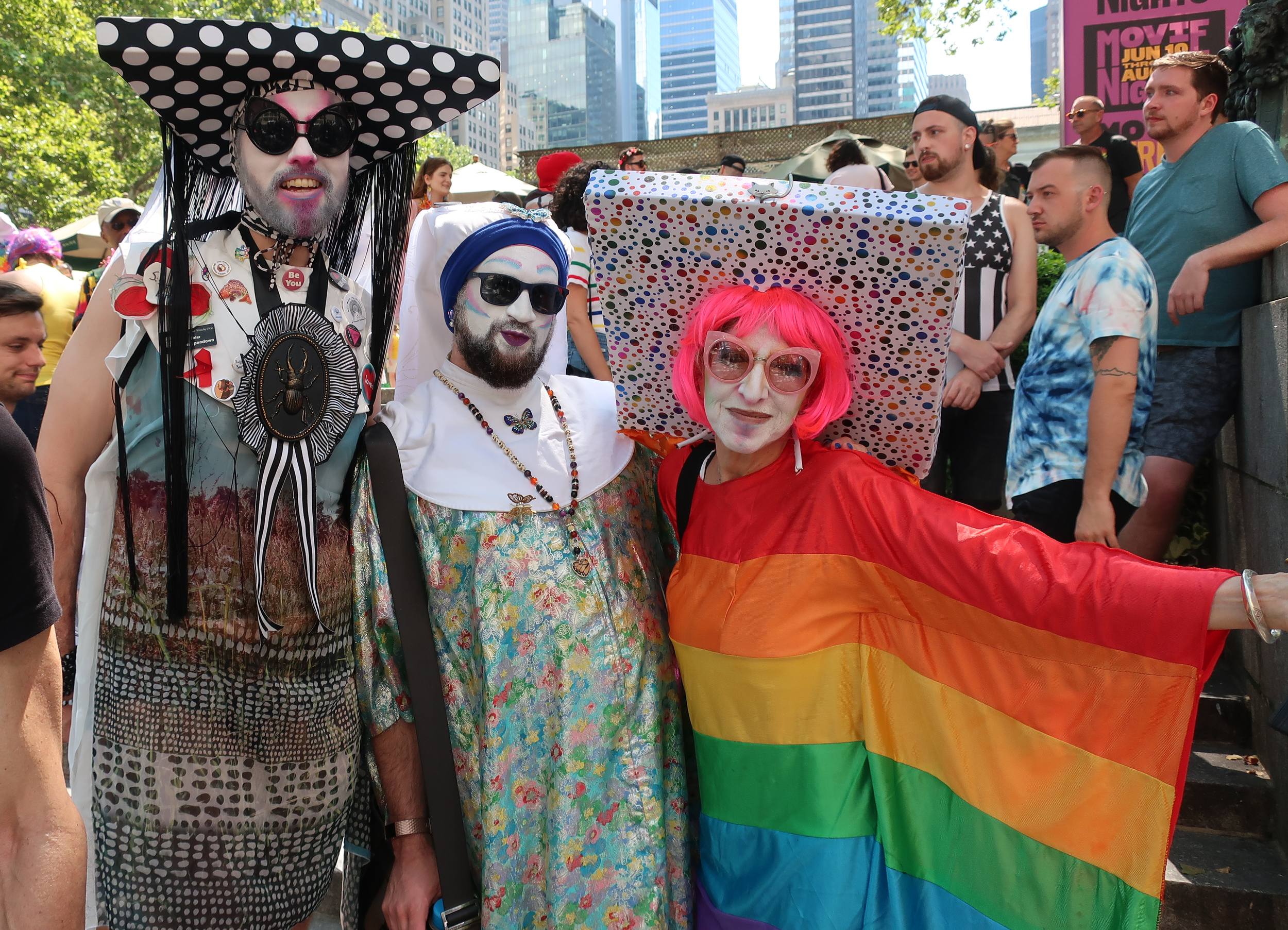Sisters of Perpetual Indulgence at Bryant Park - Photo: Dave Johnson