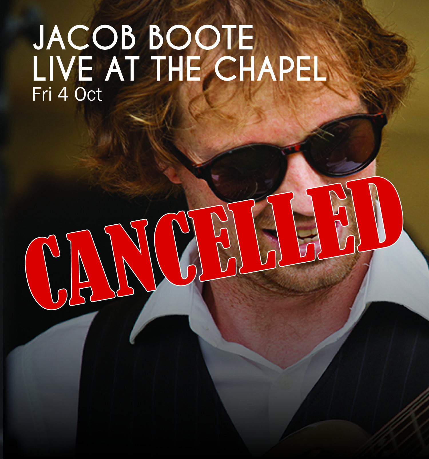 Jacob Boote at The Chapel -