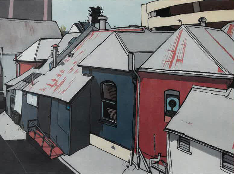 Port City an exhibition by Ariel Pascoe - Free Event11am - 8:30pm EmailPh: 0422 235 399