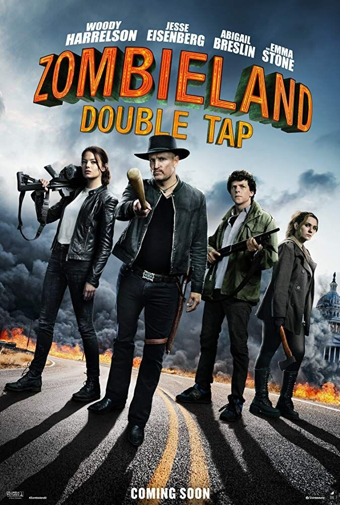 """Halloween cosplay movie night - """"Zombieland 2: Double Tap""""$5pp"""