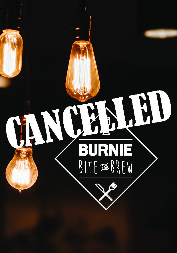 Burnie Bite & Brew - $5 Door SalesPre-Purchase $4Tickets available from Burnie Arts & Function Centre or Burnie City Council