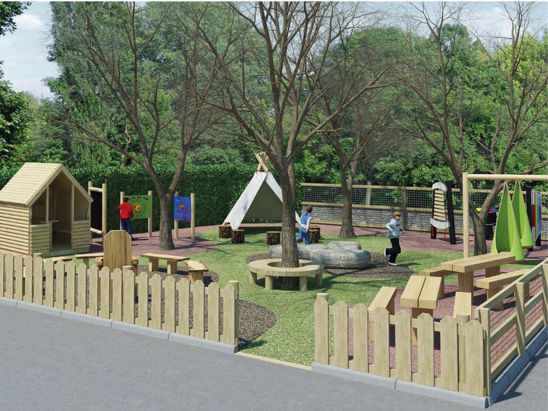 West Wittering Primary School Quiet Play Area Design
