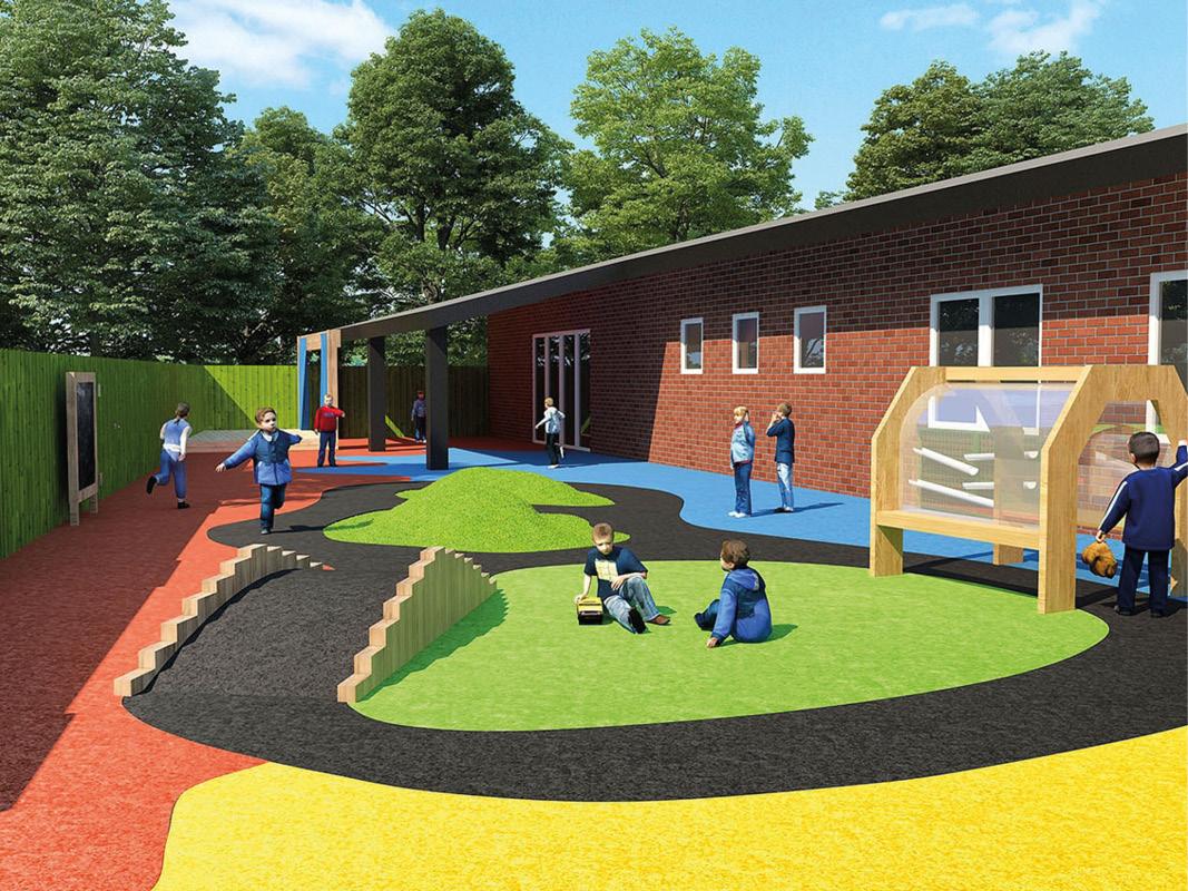 St Andrews School Nursery Early Years Area Design