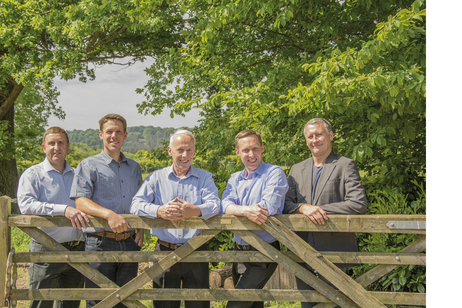 Our Team - Left to Right: Chris Page, Harry Gauntlett, John Gauntlett, Dean Gauntlett, Mark Jordan