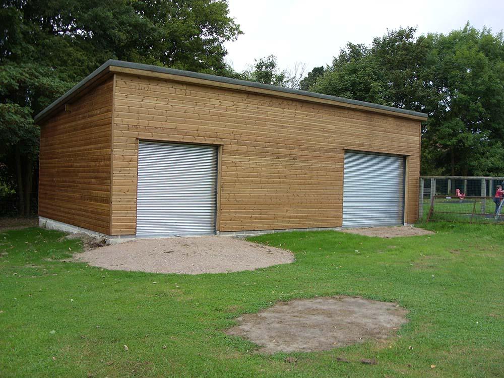 Secure workshop and storage building