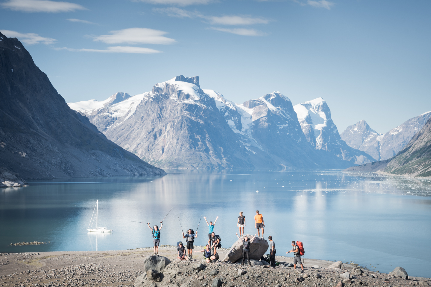 Eternity Fjord hiking expedition 2017