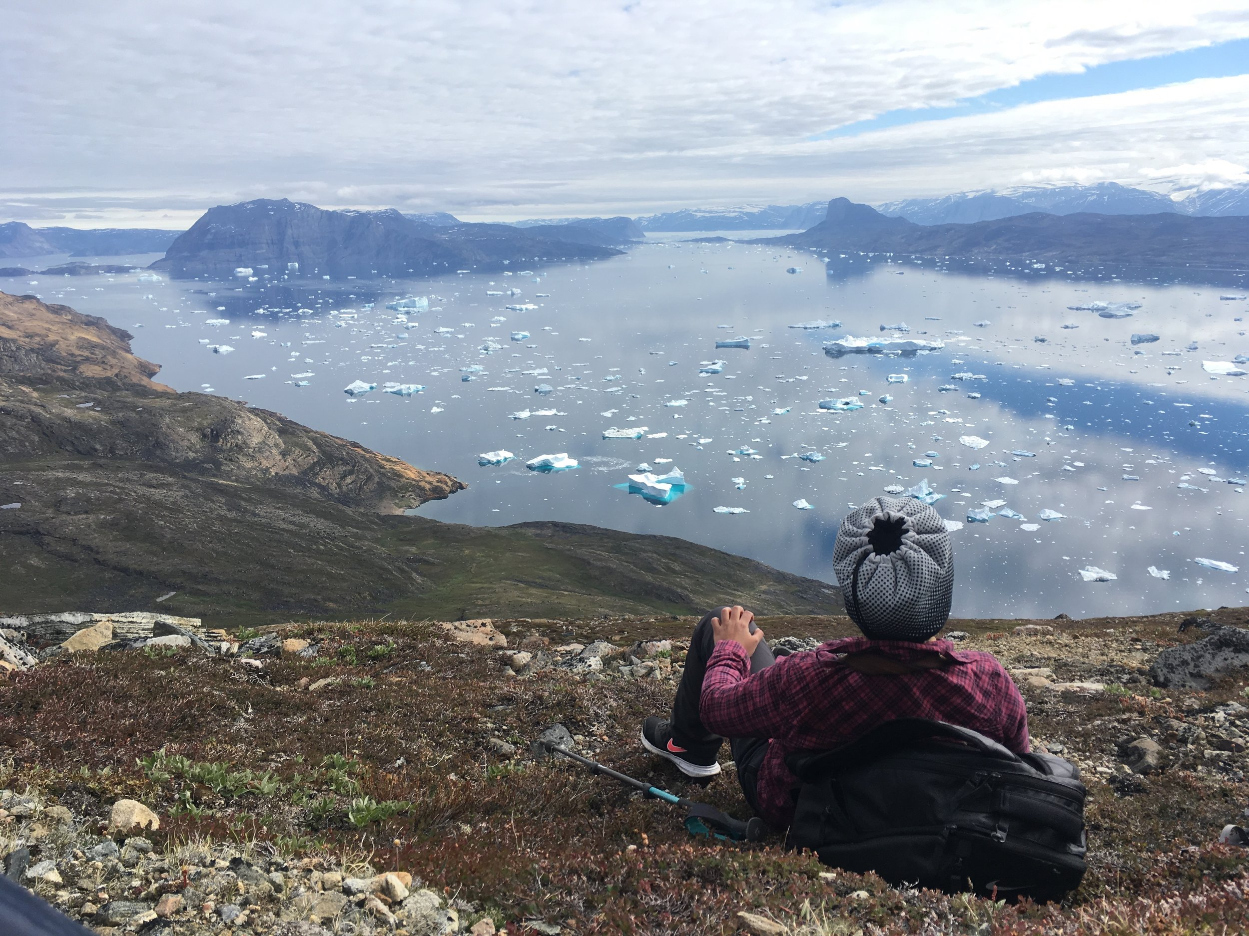 THE WANDERING CINDERELLA IN GREENLAND - BLOG REPORT BY CINDY MOLINA AUGUST 2017