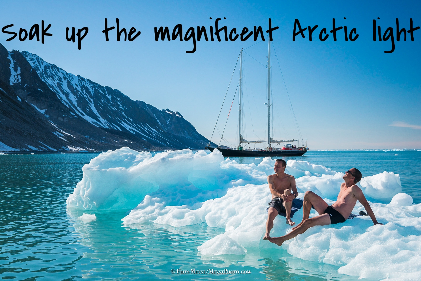 Copy of Sailing the icy fjords of Spitsbergen