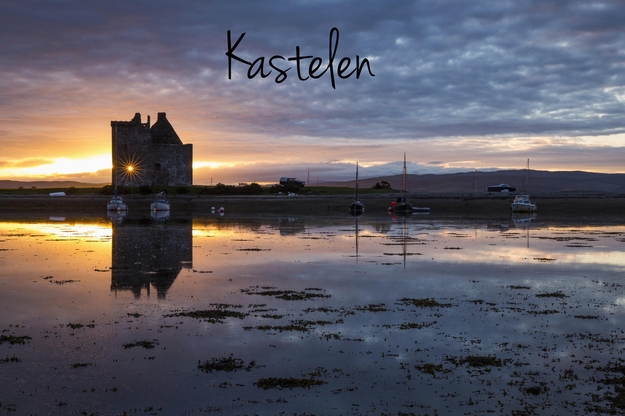 Snuif de sfeer op van een ver verleden tussen romantische ruïnes. In de kastelen van Lochranza, Gylen en Moy reis je terug in de tijd.