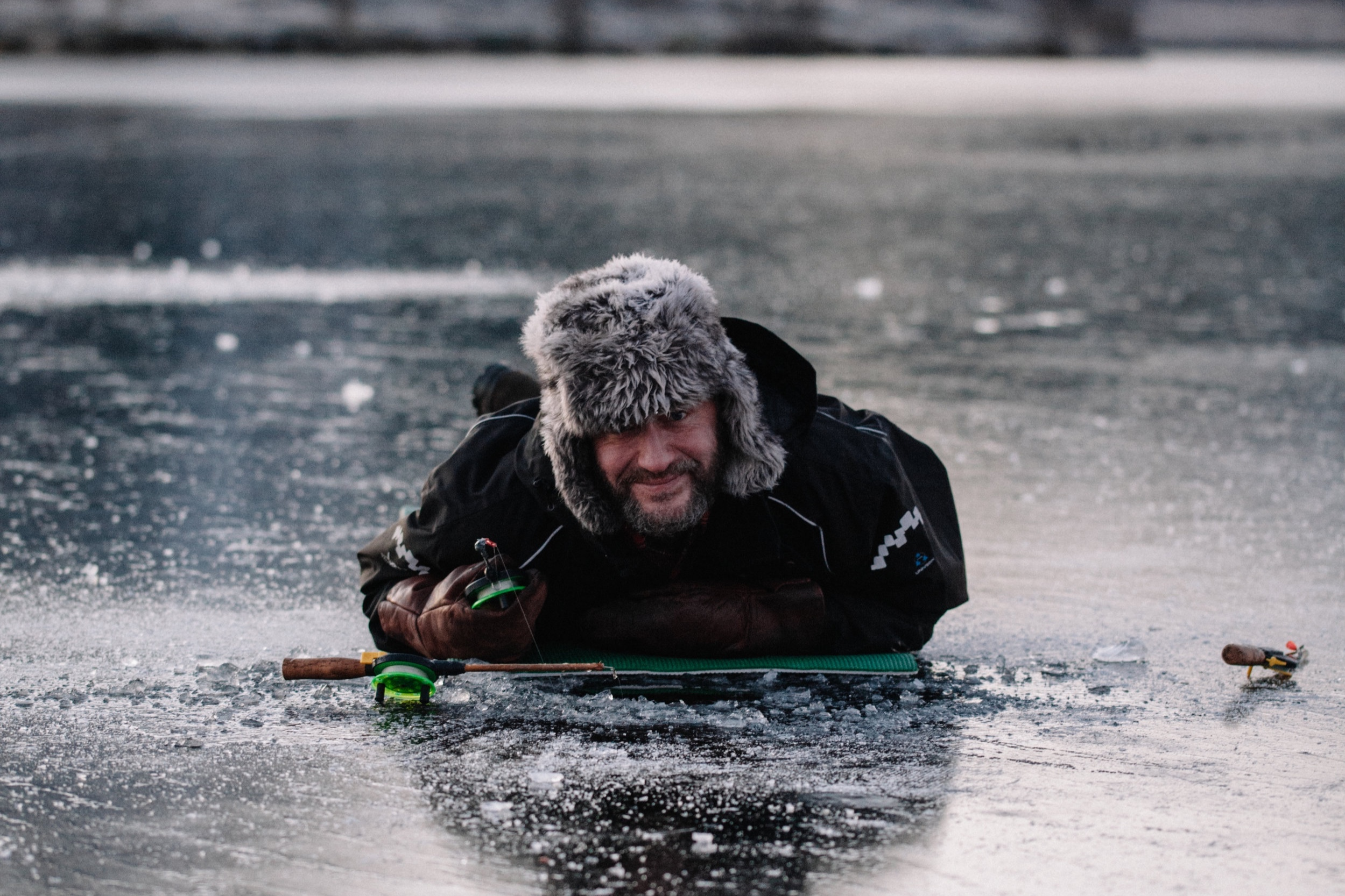 Lauri Pietikäinen, lokale vriend op Lofoten, walvisgids & visser