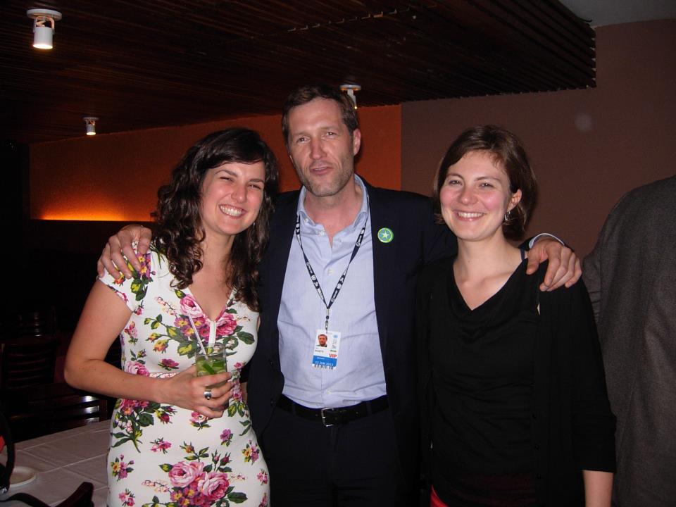 Caipirinha's drinken met Magnette in Rio op de Top voor Duurzame Ontwikkeling