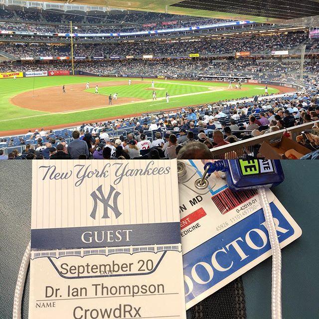 Yankees @ Yankee Stadium