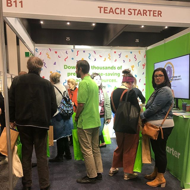 There's still time to come along to @theedushow on today and tomorrow at the Melbourne Convention and Exhibition Centre.  Free registration is available via door 19 until 5pm today and from 9am - 4pm tomorrow. #theedushowau