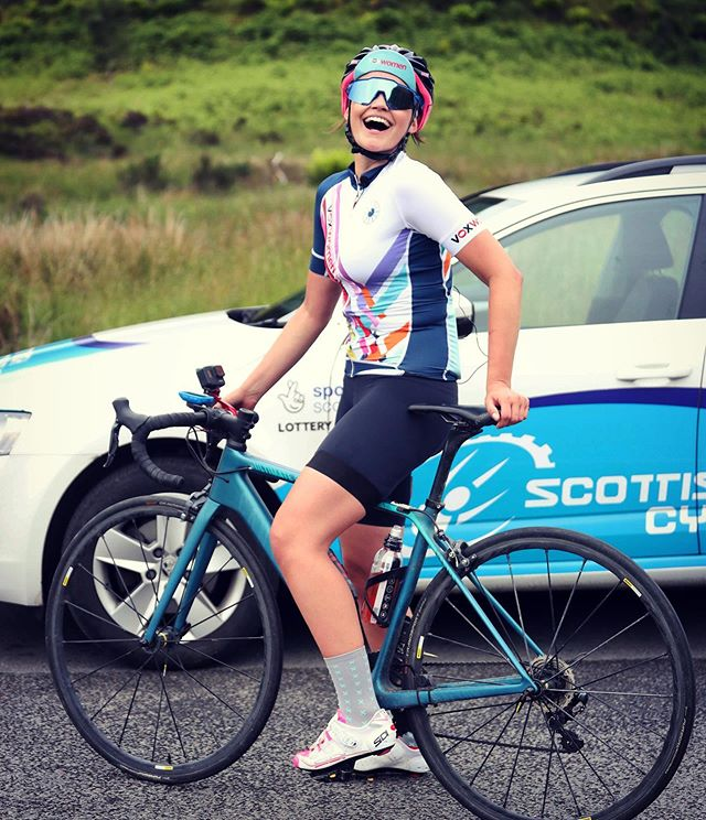 THIS happy to say I will be presenting the @womenstourscot daily and feature-length TV highlights 🚴🏻‍♀️ 🏴󠁧󠁢󠁳󠁣󠁴󠁿 • And @voxwomencycling officially announced their race partnership today too 🎥 • Less than two weeks until the inaugural race! #WTOS #womenstourofscotland #scotland