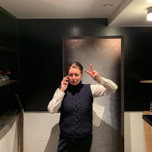 Secret stuffs.. Delicious WC maybe? Pirog shop? #interiordesign #pirog #wallpanels