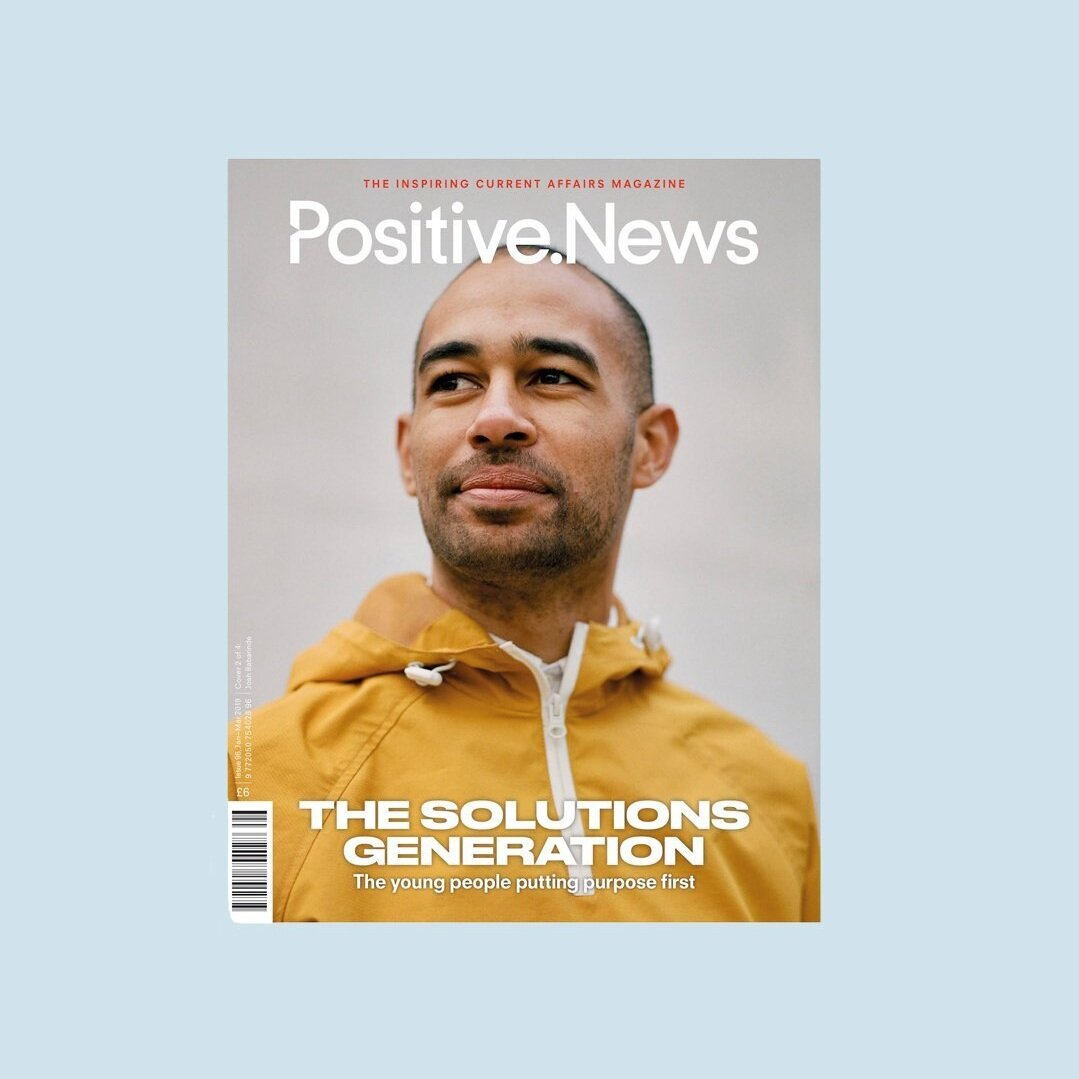 KNOW THE ORIGIN, Positive News Magazine,  £6,  Buy now