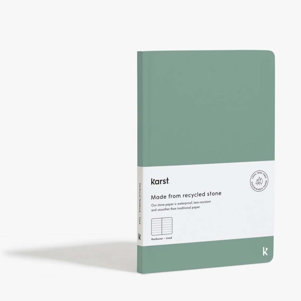 Karst Stone Paper, Hardcover Notebook  £20,  Buy now