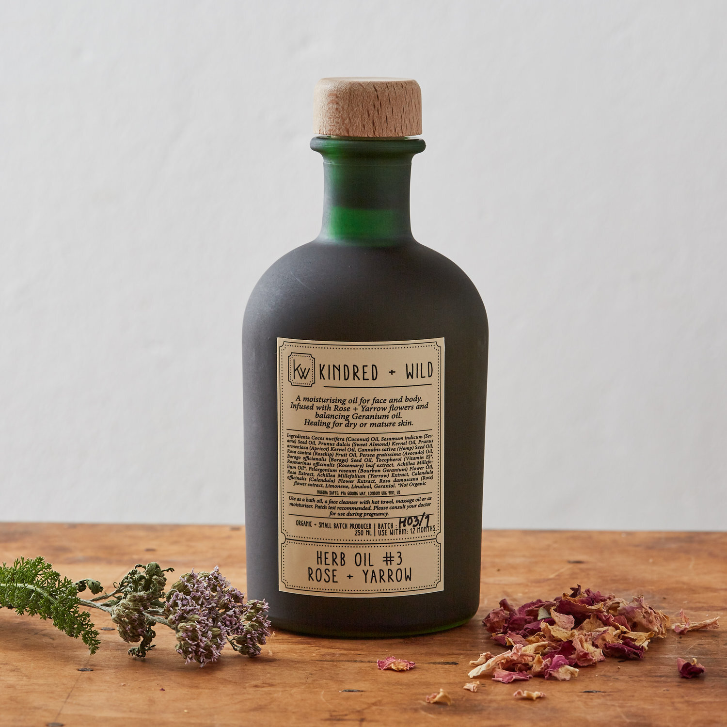 Kindred & Wild Herb Oil #3 , £62,  Buy now