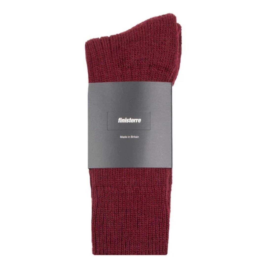 Finisterre, Dark Red Wool Socks,  £15,  Buy now