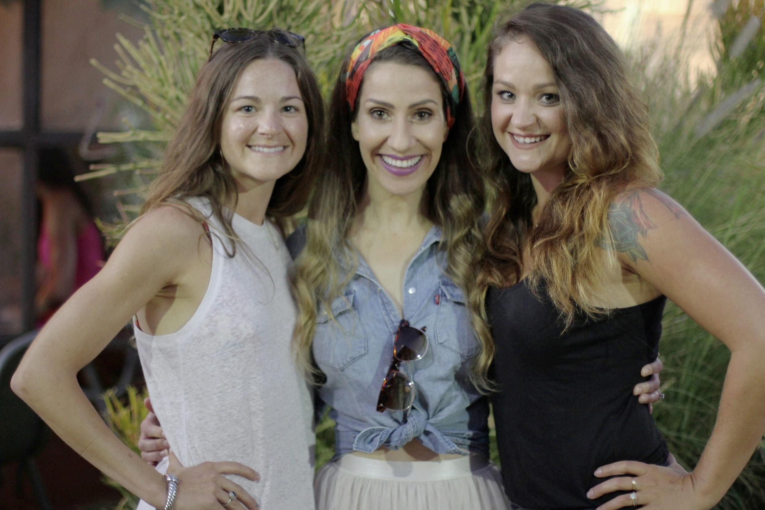 sarah's sister johannah, jessica (missionary) & sarah