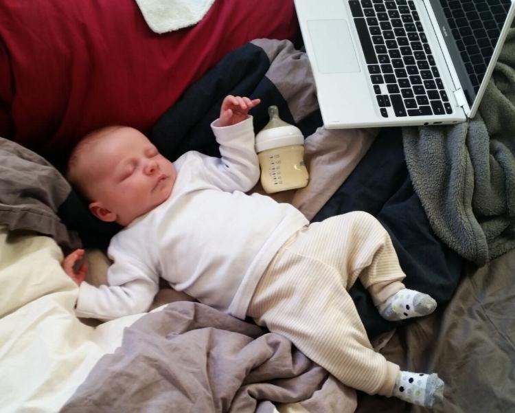 Söckchen - gerade im Geschäftsleben von Babys nicht wegzudenken. Quelle: Sophie