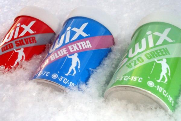 SWIX smøreservice er på plass og passer på at du har bra ski -
