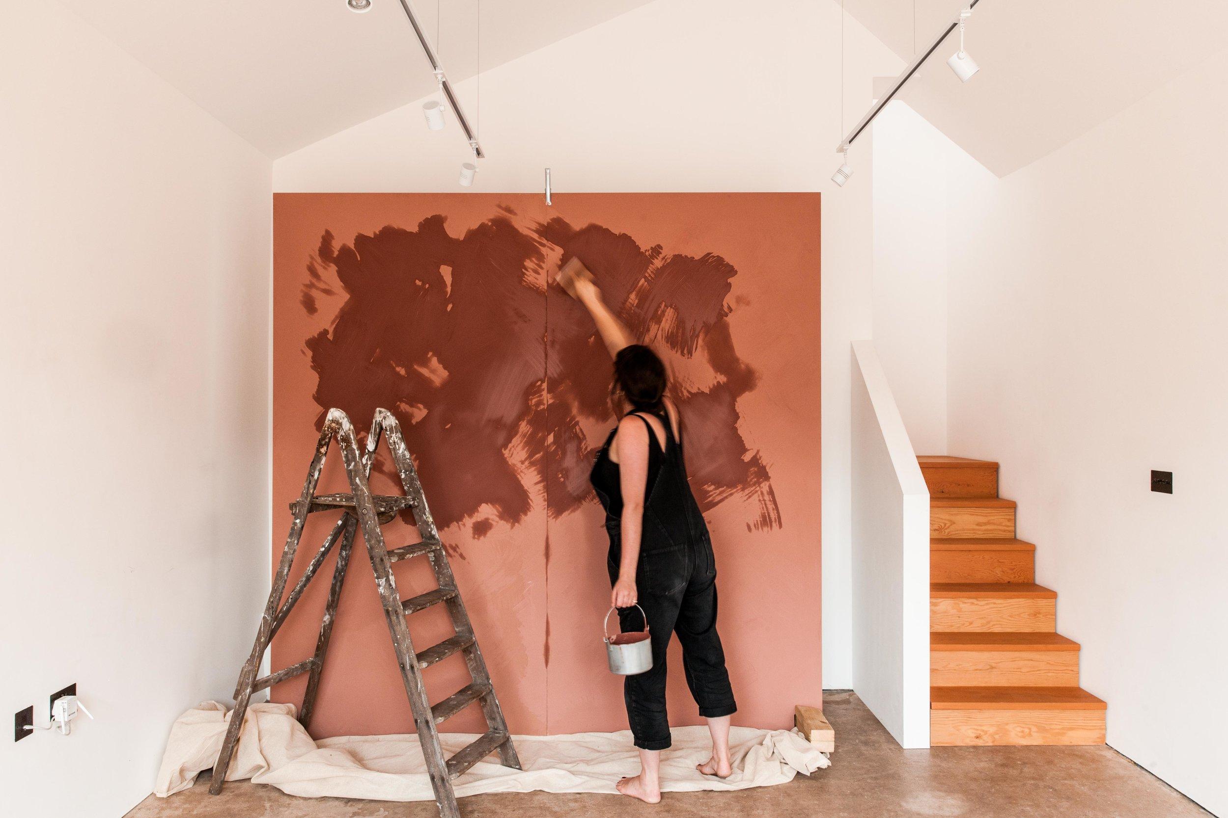 Bespoke Painted Backdrop -