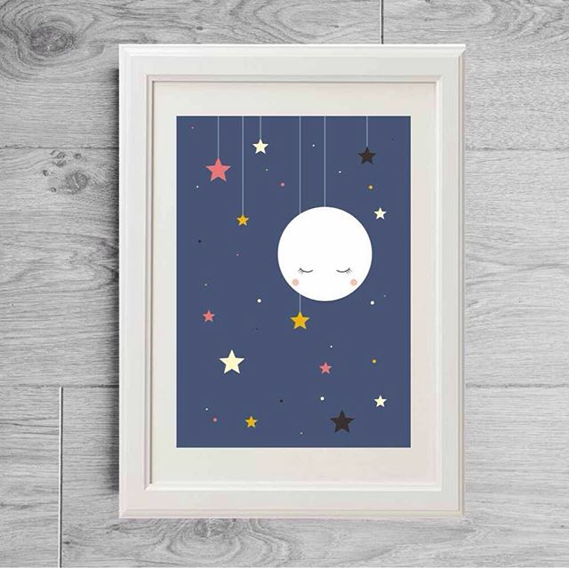 sweet sleeping moon and stars ... 🌙⭐️⭐️⭐️ wish you good dreams ...