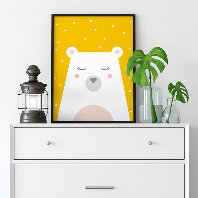 I love this cute face ! This polar bear is the best seller on my shop and is available in differents colors ❤️