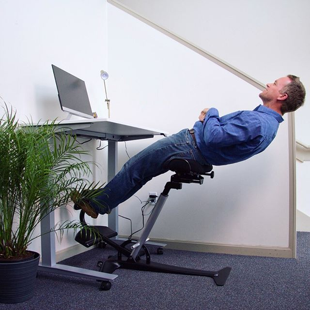 Does your office chair let you do this?