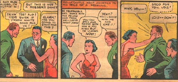 Golden Age Lois Lane, kicking ass and taken names
