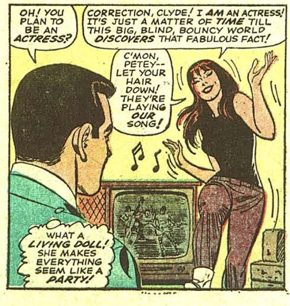 You just gotta be jive, Peter! Go with the flow, you know?
