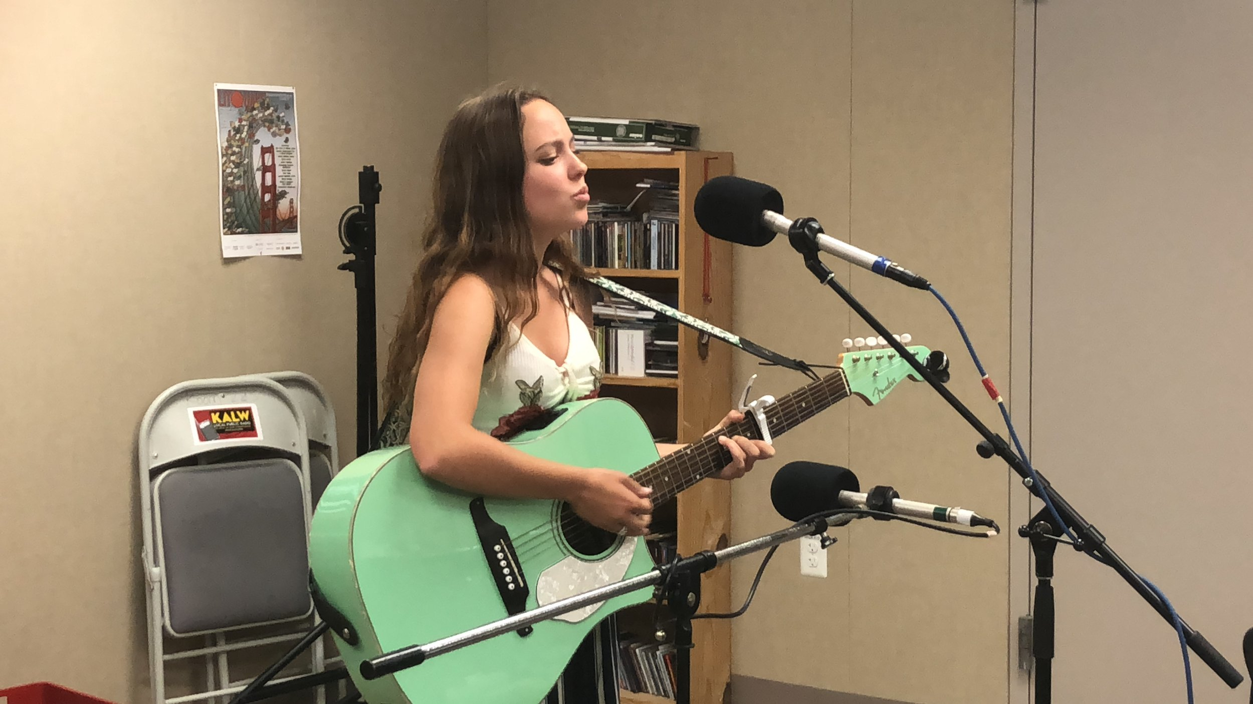 Amalia Live Today on KALW Radio.JPG