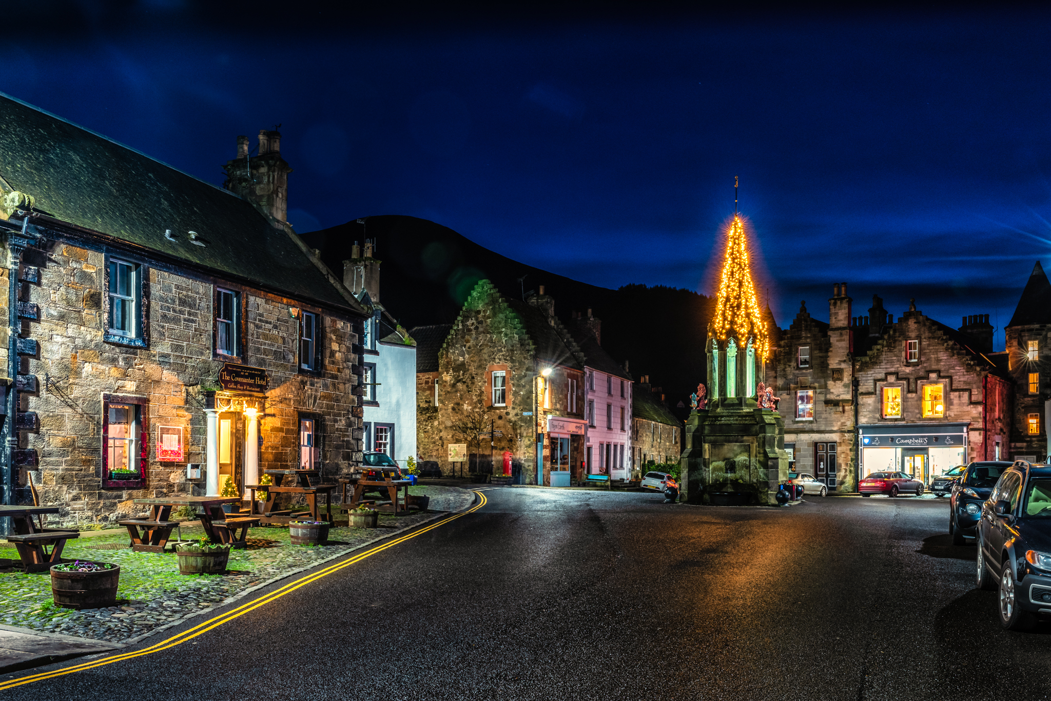 Falkland at Christmas