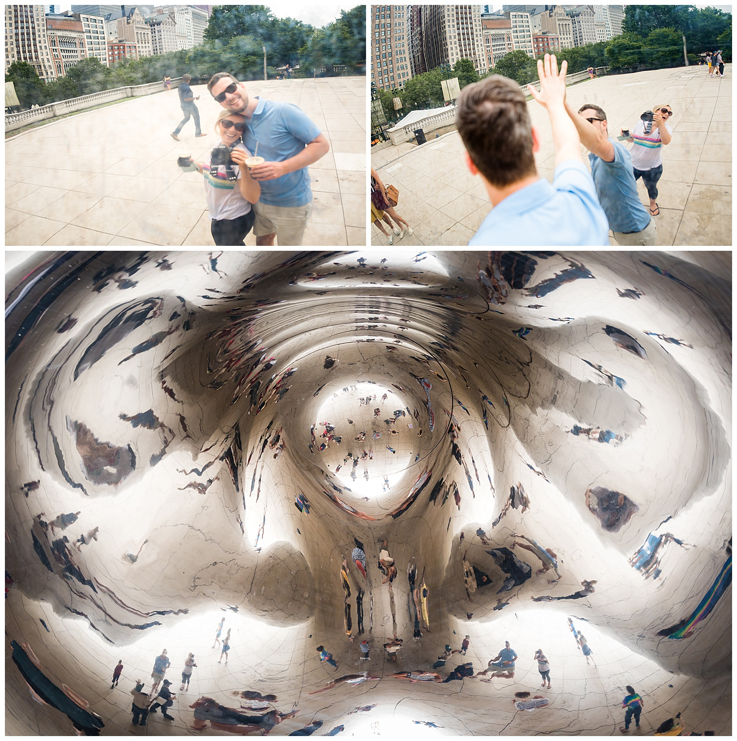 Of course we had to visit The Bean…