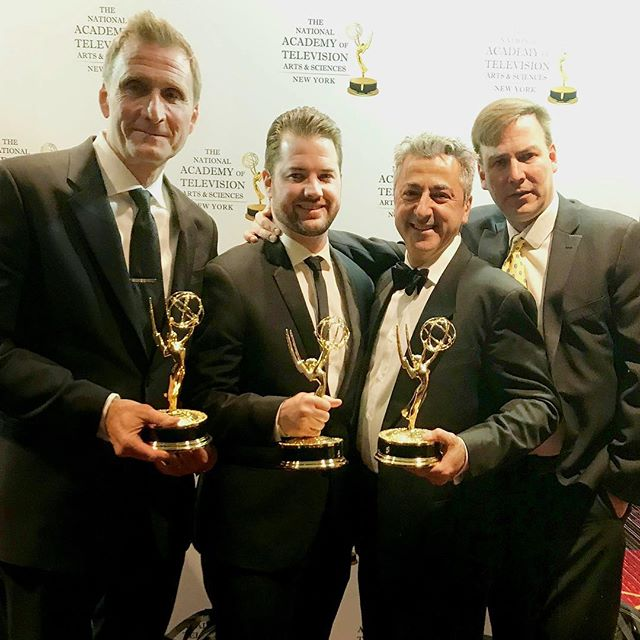 m2 had a big night on Saturday along with partner @rgtvny, taking home three New York Emmy Awards! Wins include Outstanding Sports Cinematography, Lighting Design by Director of Photography Chris Kostianis, and Writing for a Series by RGTV Senior Producer Dan Galway. —  #emmys #nyemmys #television #tv #production #sports #cinematography #focuseddocs #inthespotlight #awards #win