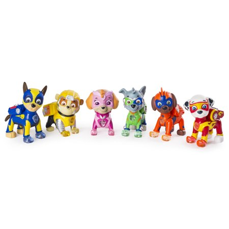 Paw Patrol-Mighty Pups 6-Pack Gift Set