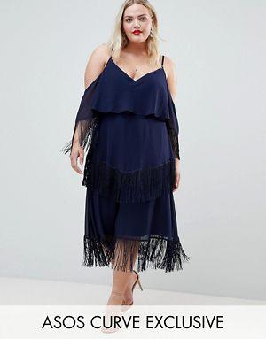Fringe Minimal Dress