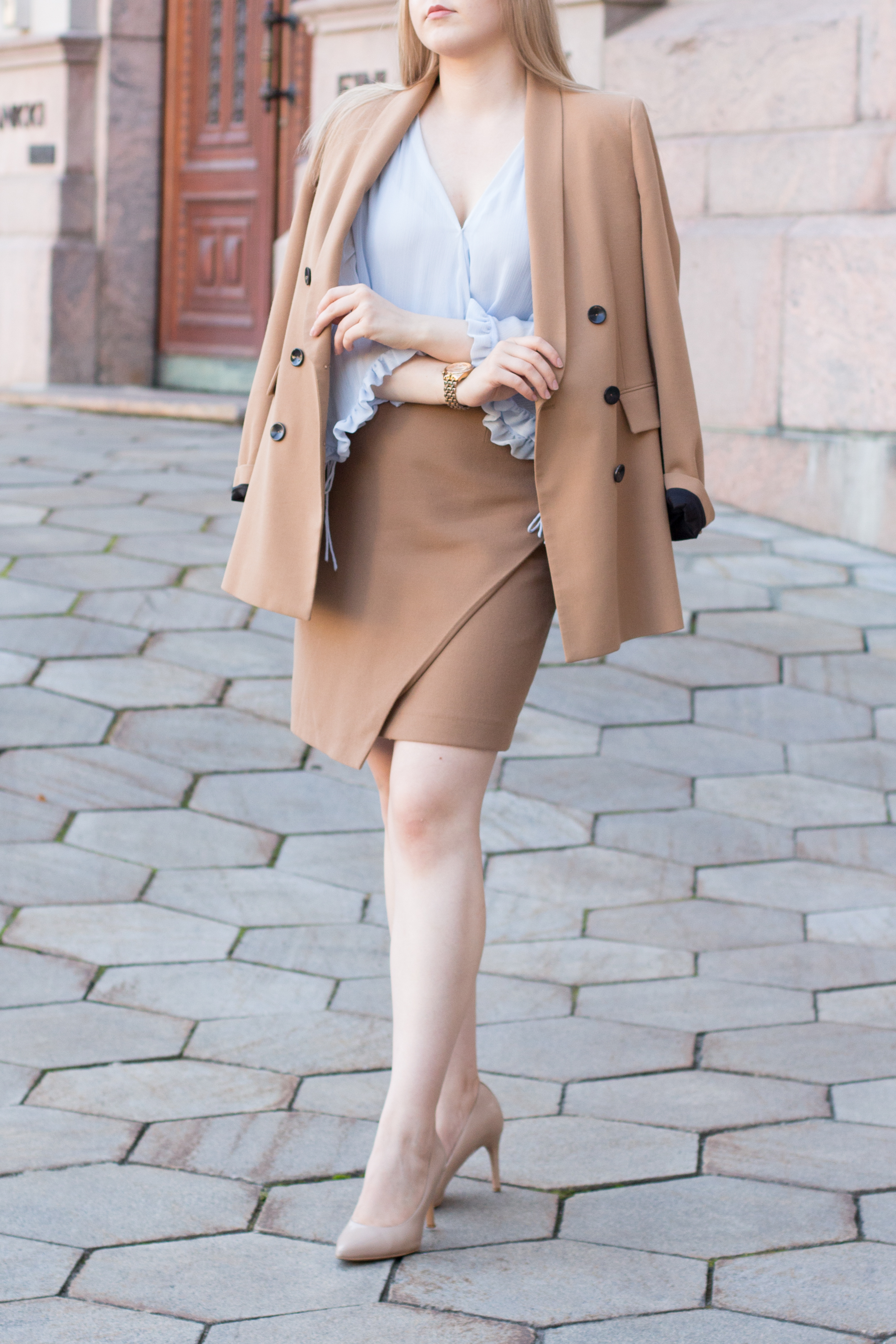 Brown blazer suit with baby blue shirt (3 of 21).jpg