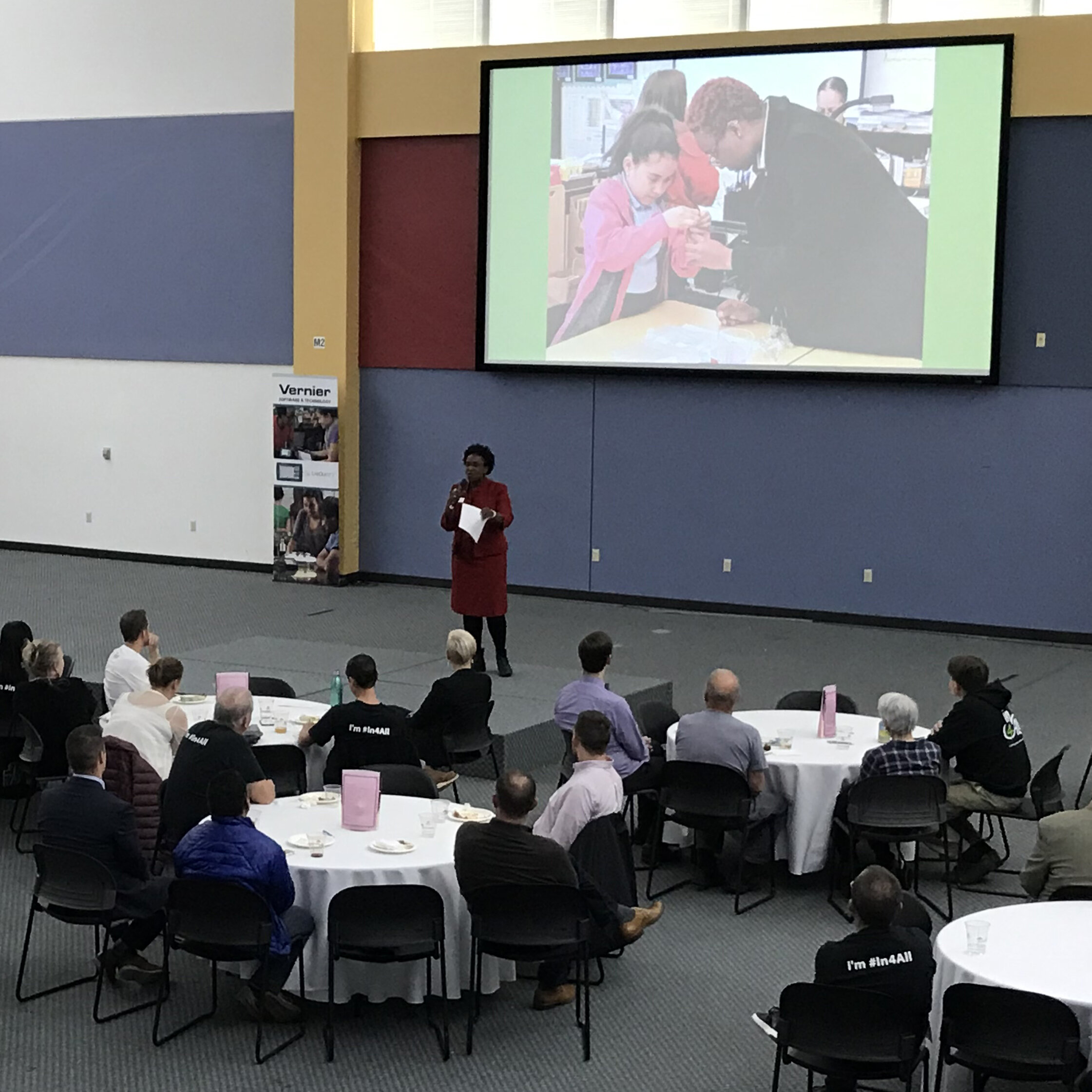 Kimberly Howard shares her story of encountering racial issues and the systemic barriers students face