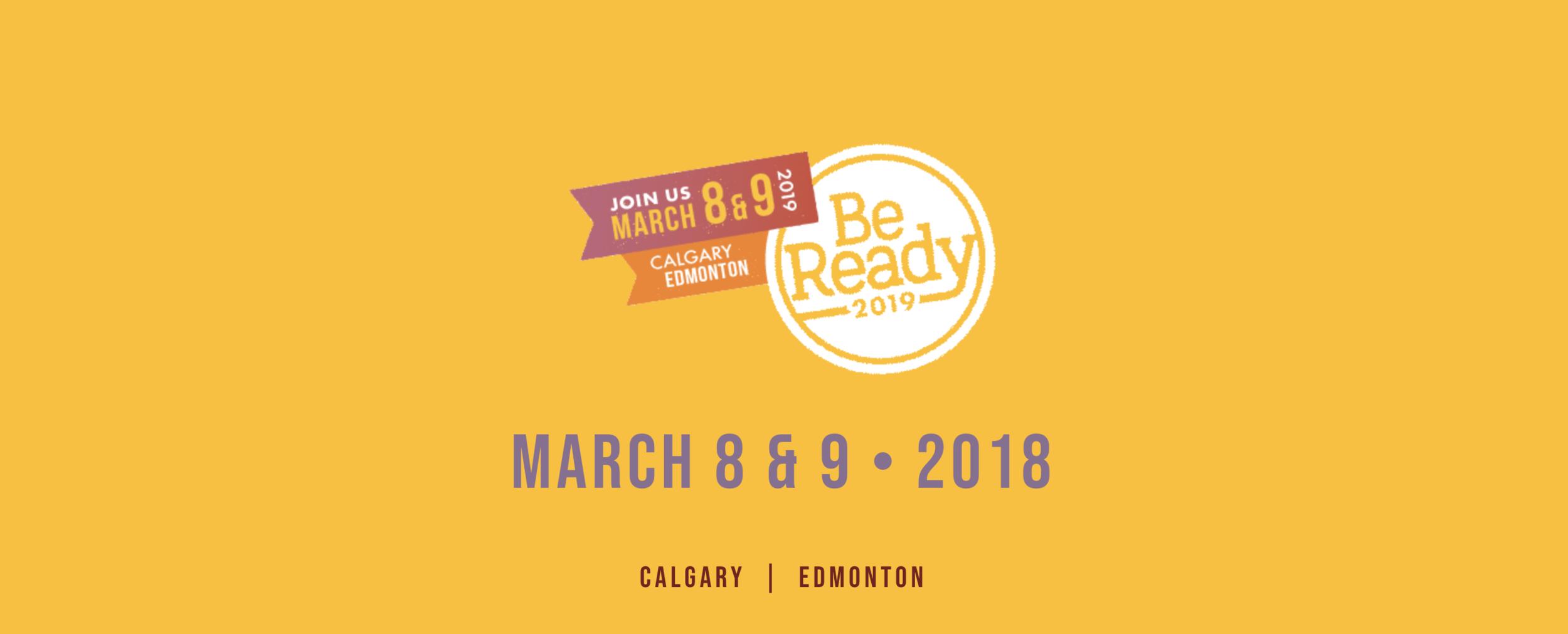 Be Ready 2019: Finding God in Science - https://www.bereadyalberta.ca/