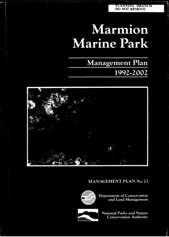 Marmion's management plan - a little dated now but plans to update it!