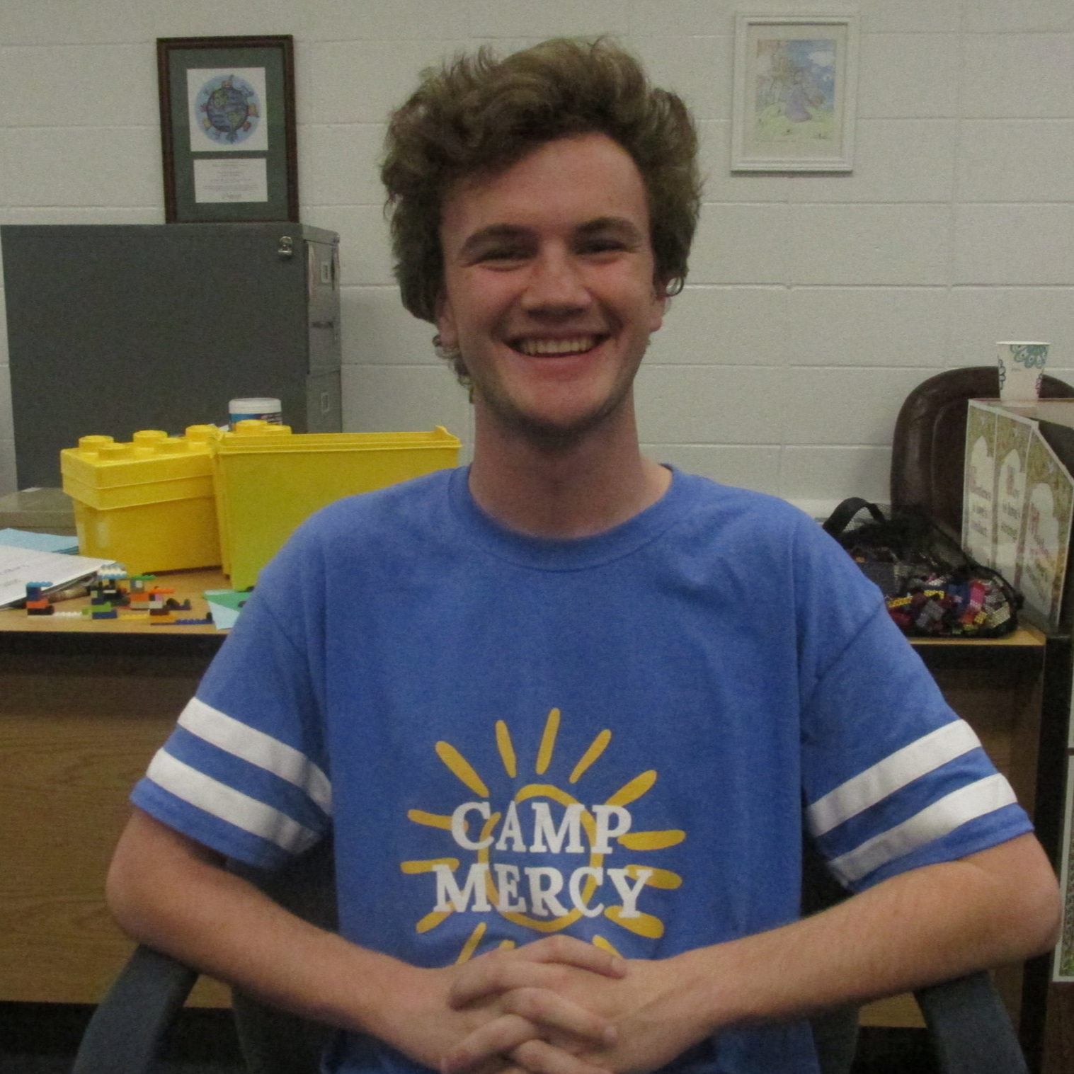 Ben Clancy - Hi! I'm Ben Clancy. I graduated from Gonzaga College High School in 2017 and will be a Junior at Boston College this Fall. I love Math, Computer Science, am on the board of a music club at my school, and am super excited to work at Camp Mercy.