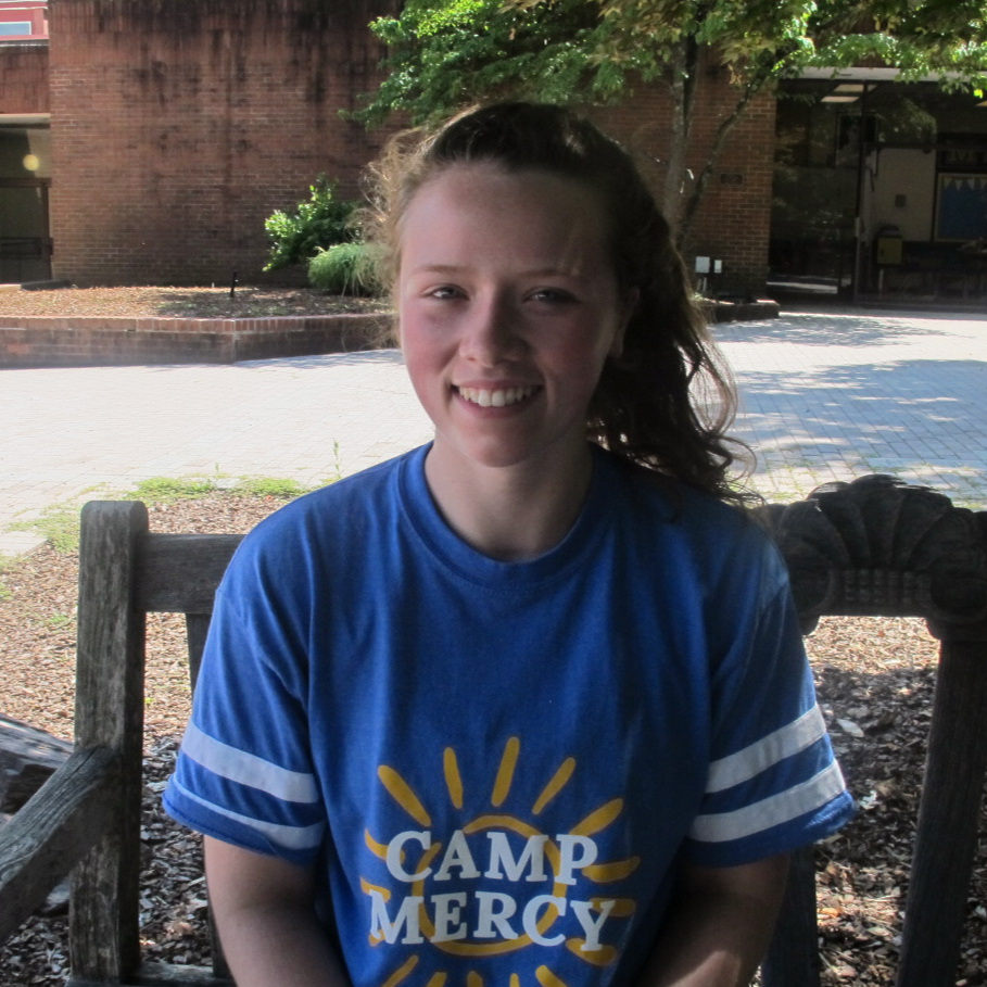 Grace O'Connor - Hello! I'm Grace and I am an incoming freshman at Fairfield University. I attended St. Raphael's School and then the Academy of the Holy Cross. I am so excited to be a counselor at Camp Mercy and working with all of you!