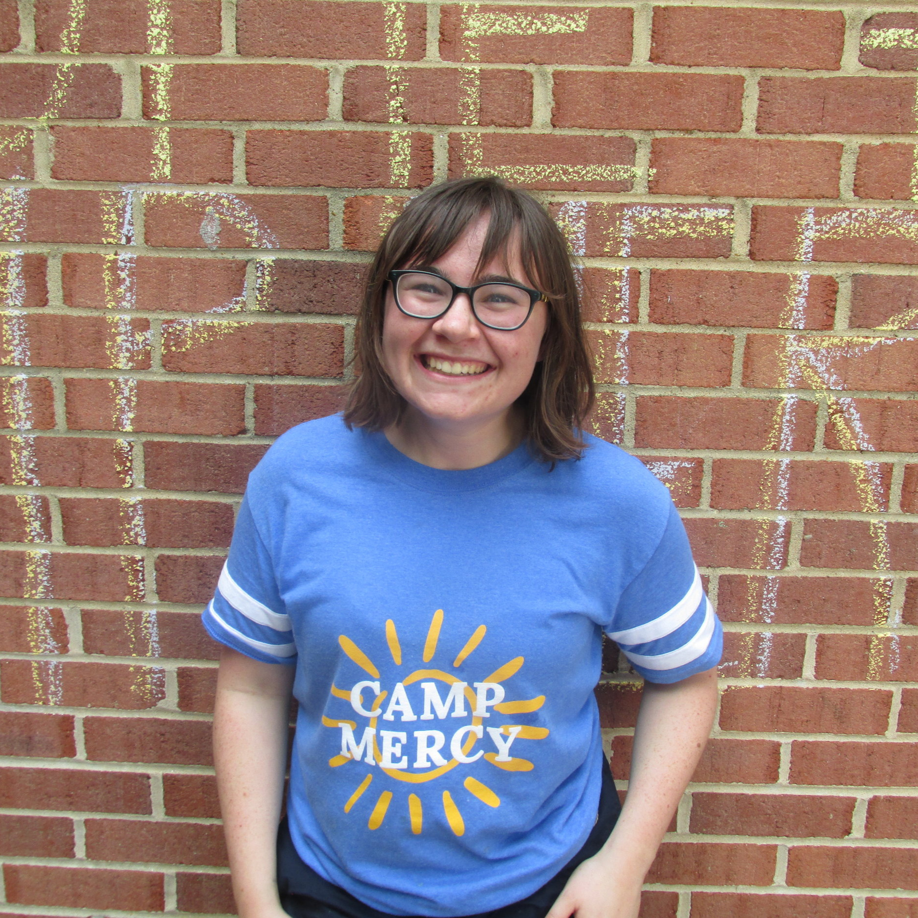 Maggie Rudman - I'm a rising sophomore at Catholic University studying Theology and Religious Studies. I love animals, musical theater, and hiking! I'm so excited to be working at Camp Mercy, and can't wait to meet all the kids!