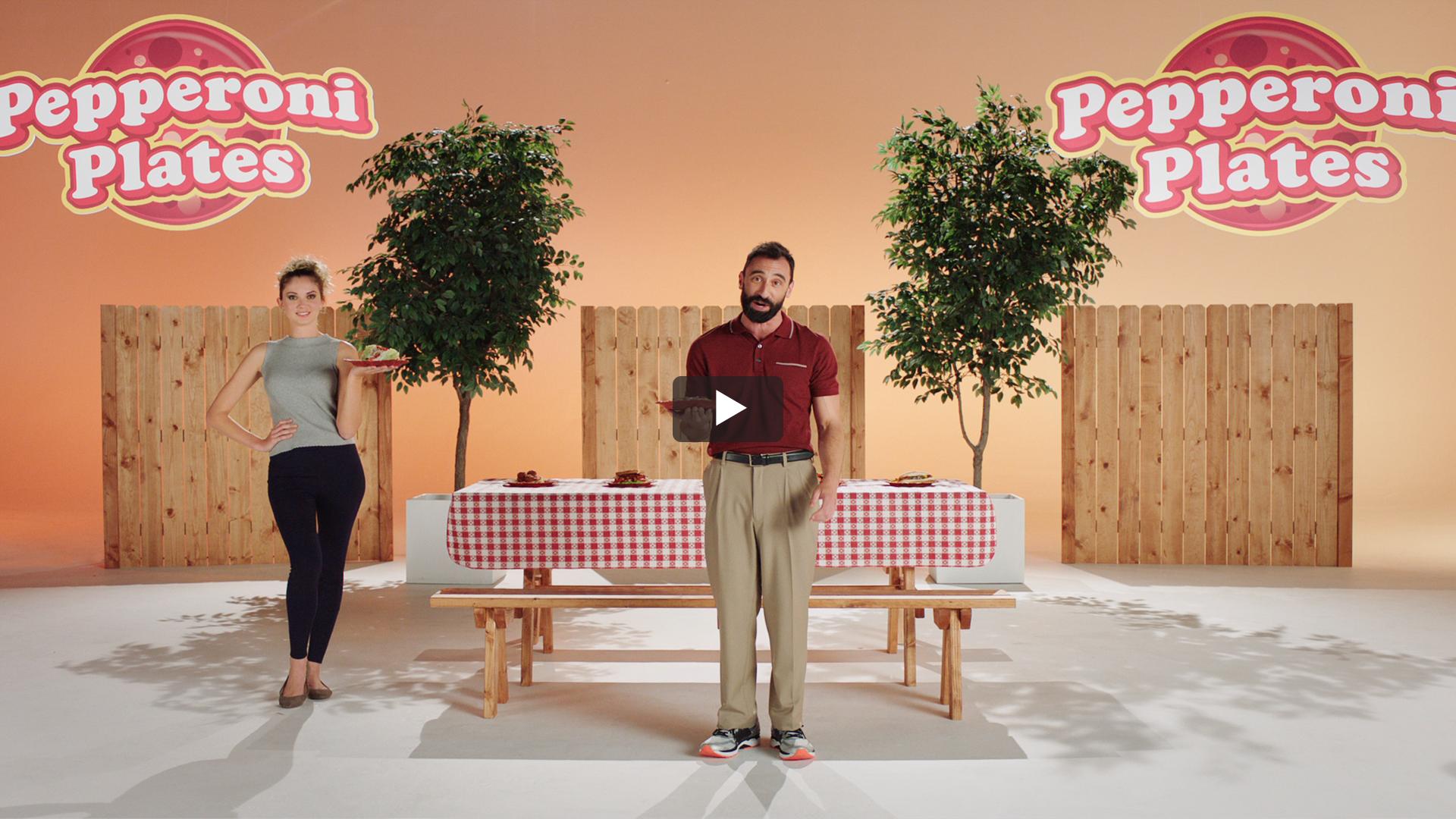 Pepperoni Plates®