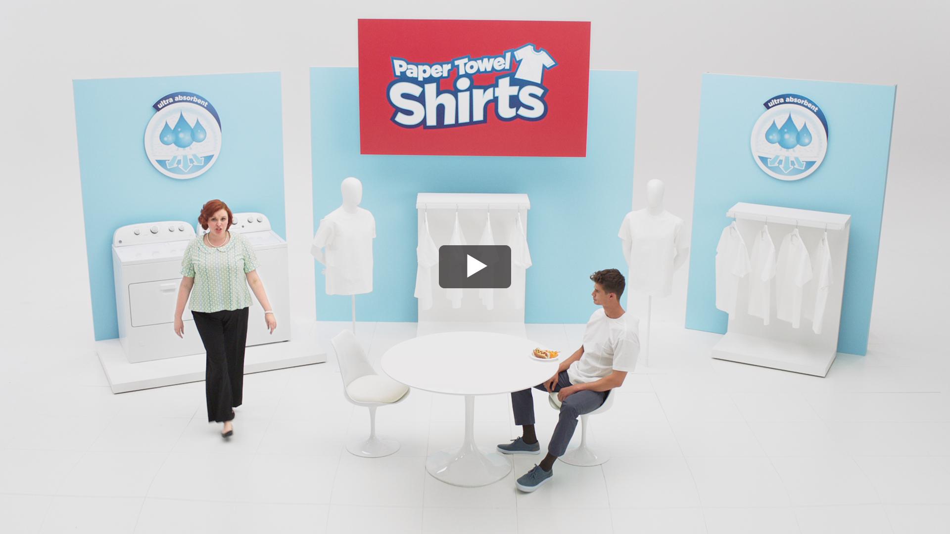 Paper Towel Shirts®