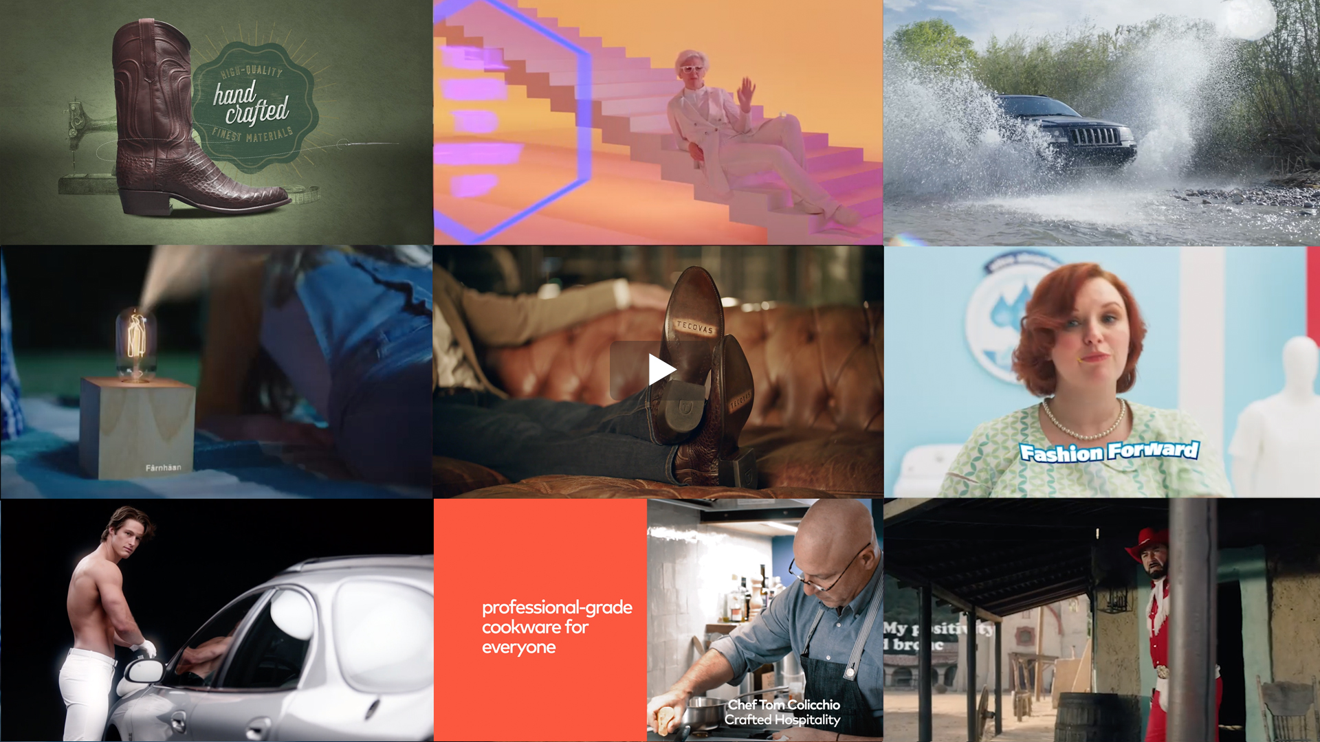 We've created a vast range of DTC TV content.