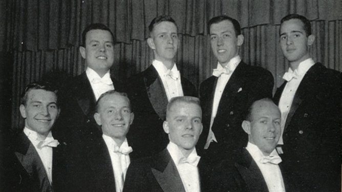 Original Friars Group from 1955